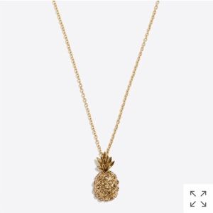 JCREW PINEAPPLE NECKLACE
